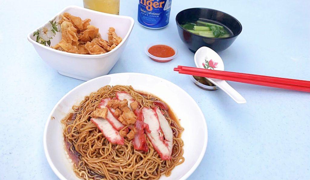 Wai Wai Wan Tan Meeのワンタン料理