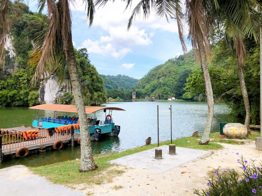 グヌン・ラン公園のボート