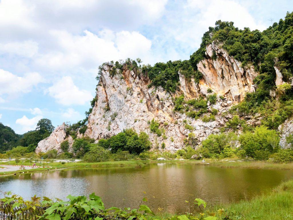 グヌン・ラン公園の風景