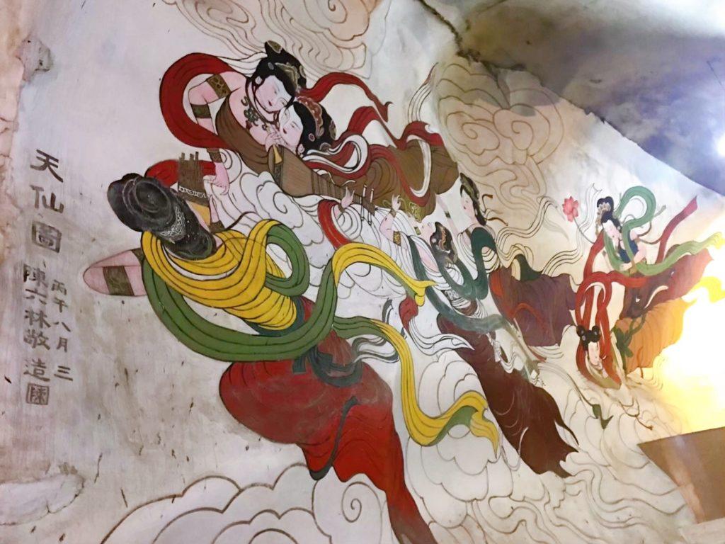 ペラトンの壁画