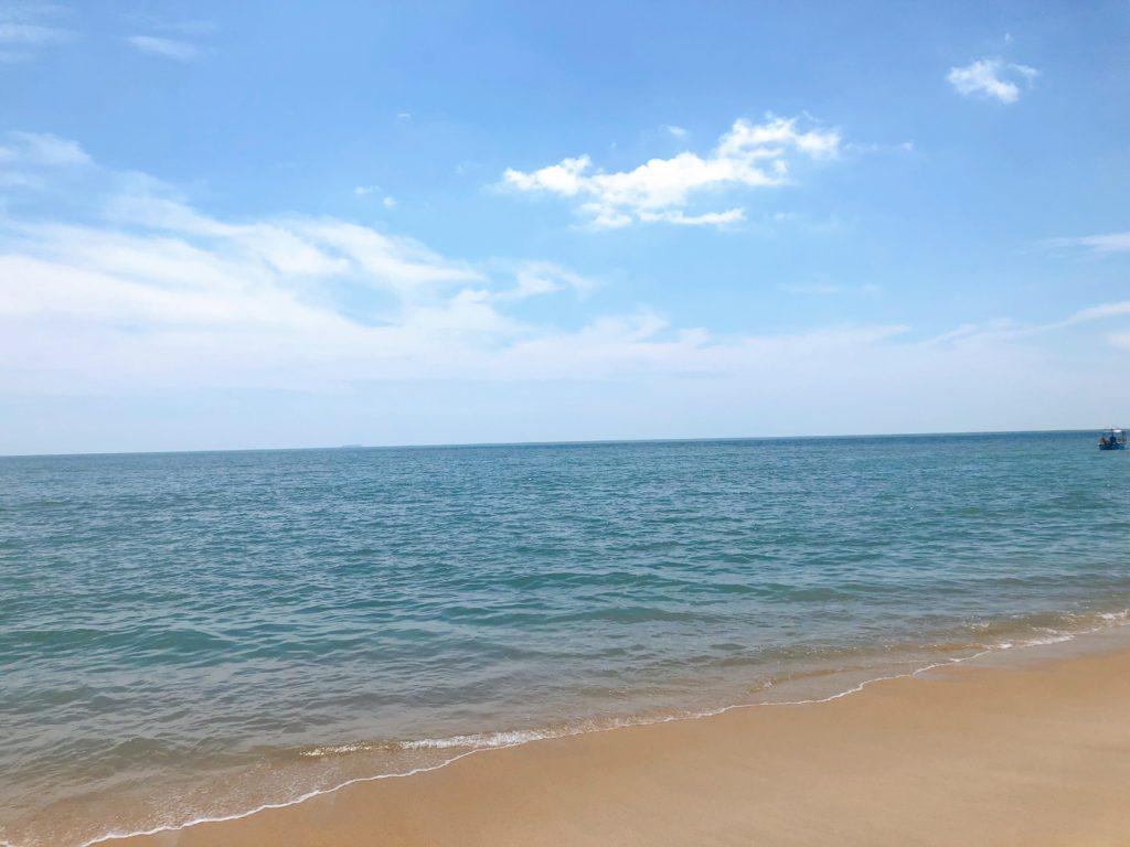 バトゥ・フェリンギのビーチ