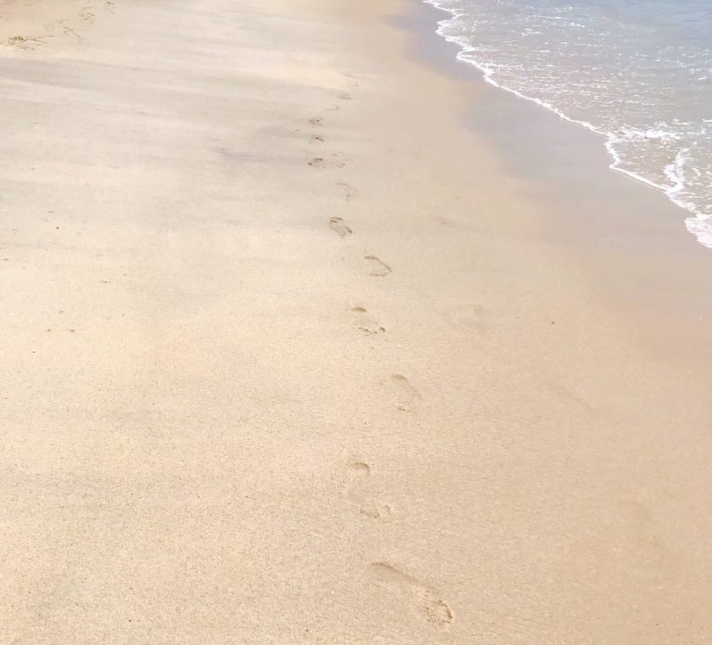 バトゥ・フェリンギの砂浜