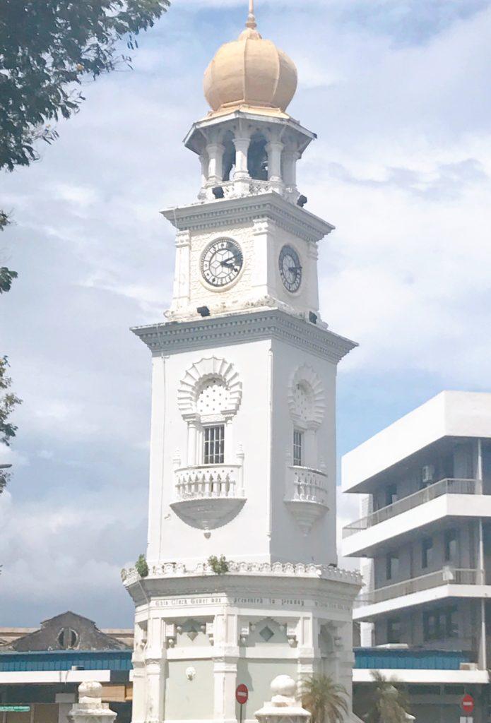 ヴィクトリアメモリアル時計台