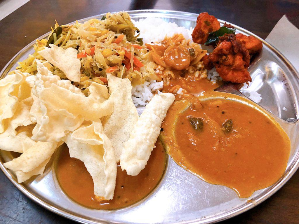 Sri Kaveriのカレー