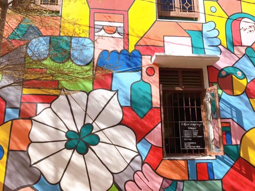 マラッカの3Dストリートアート