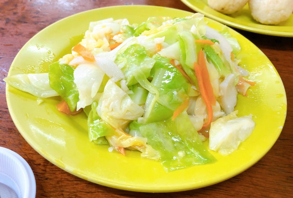 Hoe Keeの野菜炒め