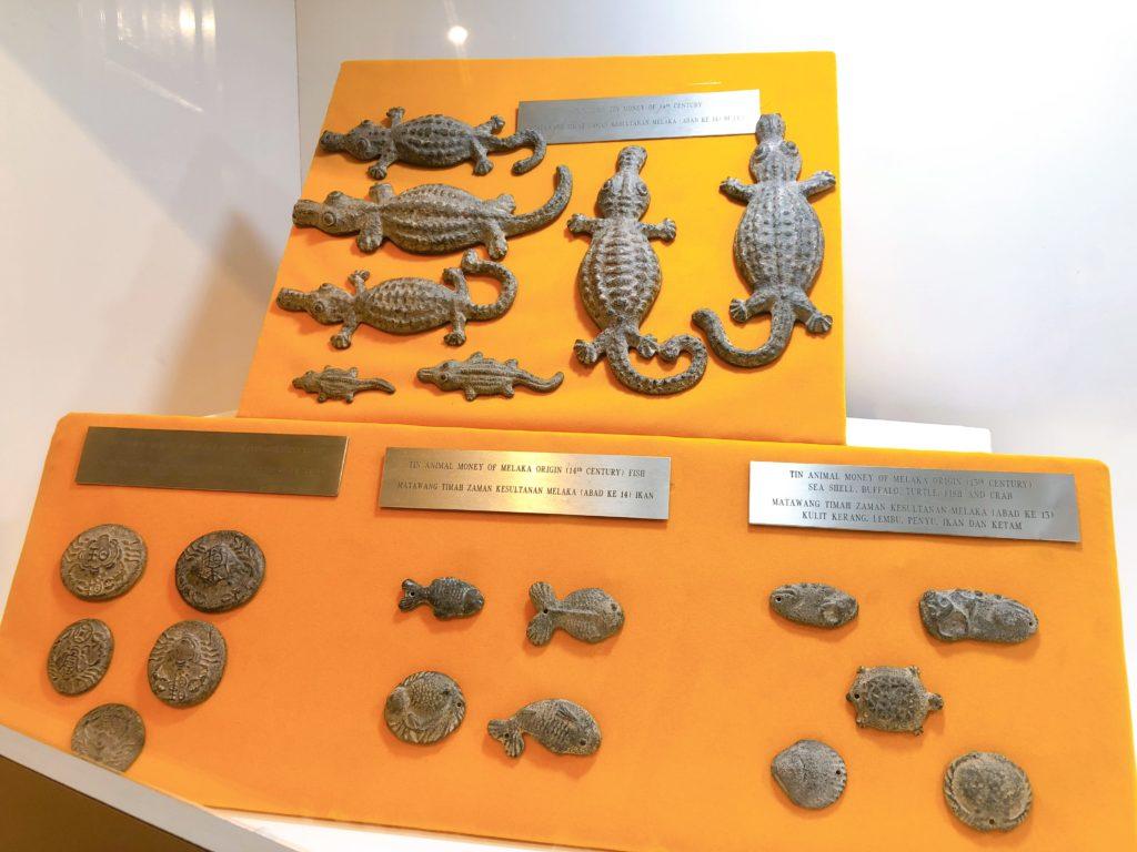スタダイスに展示されているアニマルマネー