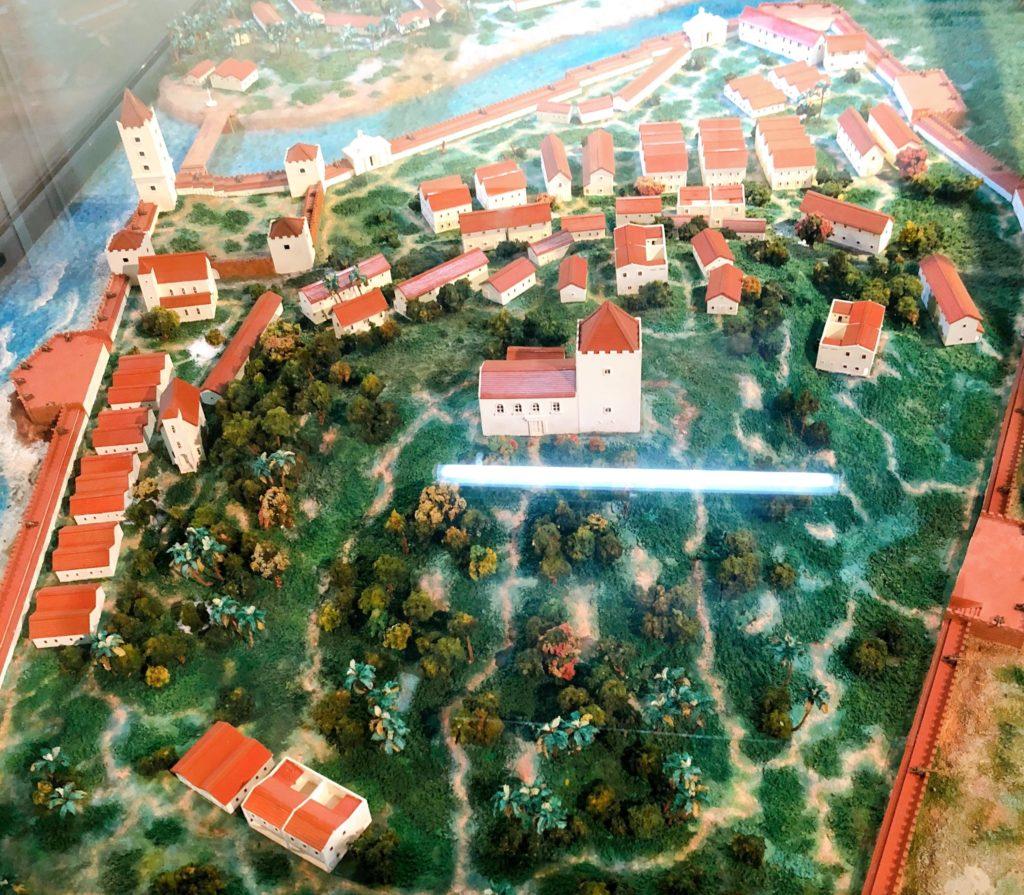 スタダイスに展示されているジオラマ