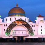 マラッカの水上モスクへ行く前に確認!行き方や夕日の時間帯は?