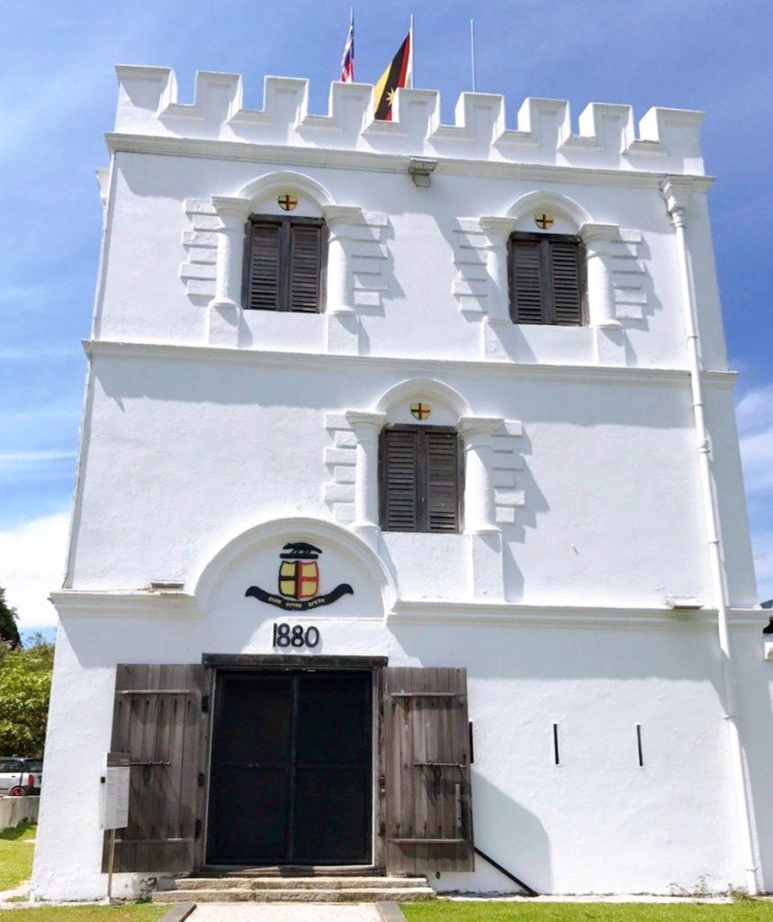 マルゲリータ砦の入口