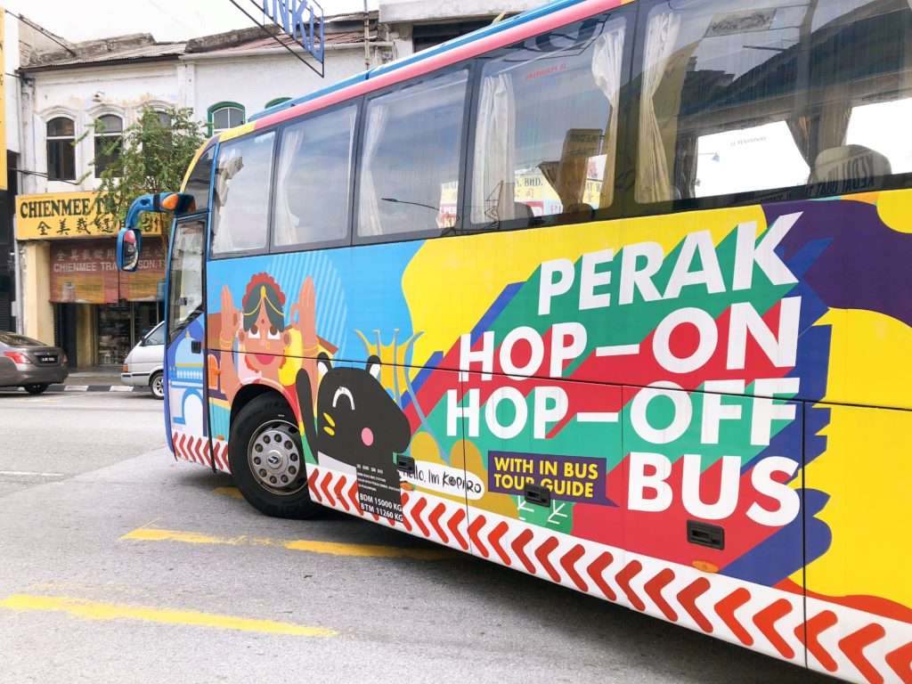 イポーのHOP-ON HOP-OFFバス