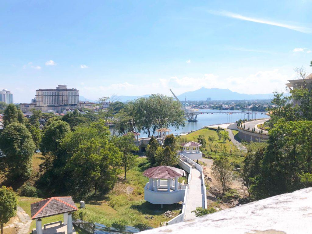 マルゲリータ砦の屋上から見える景色2