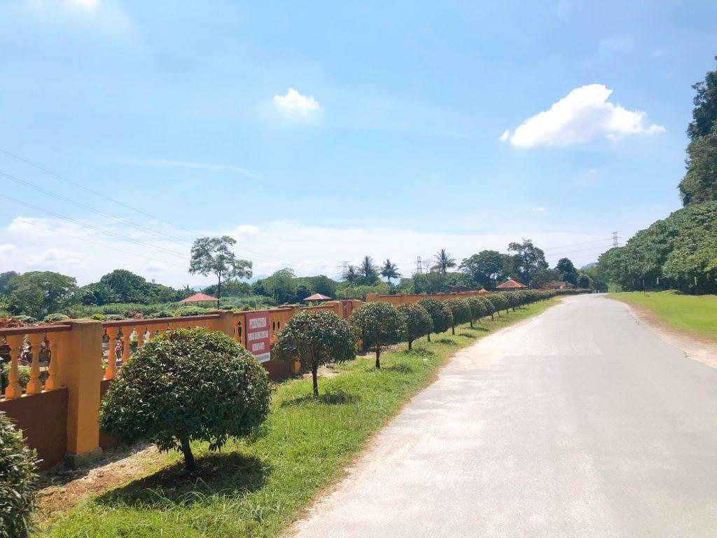 マレーシアの田舎道